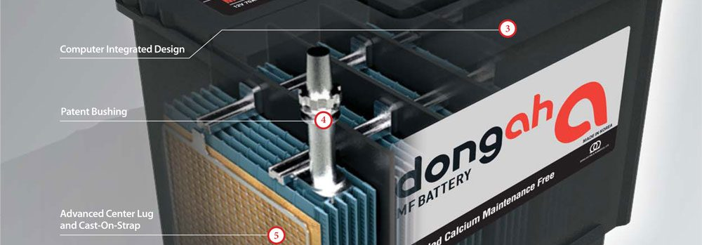 vente de batterie dongah made in korea progres automobiles sarl. Black Bedroom Furniture Sets. Home Design Ideas
